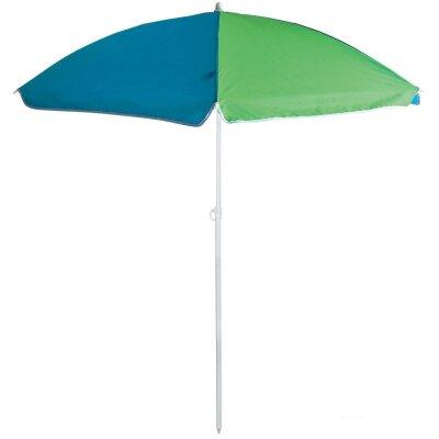 Зонт для пляжа складной компактный BU-66 диаметр 145 см, складная штанга 170 см