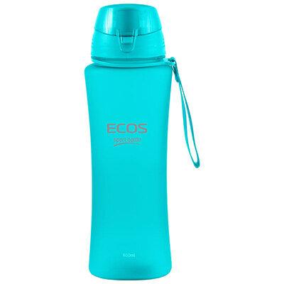Фитнес бутылка для воды 650 мл ECOS SK5015 бирюзовая