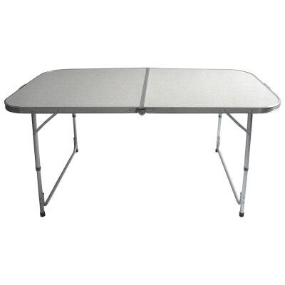 Стол походный складной алюминиевый ECOS TD-06 160х60х70 см, 5.8 кг
