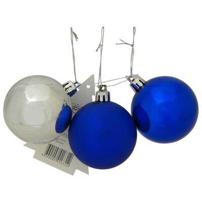 Набор матовых елочных шаров 6 см «Шарики» PRO6-3 3 штуки