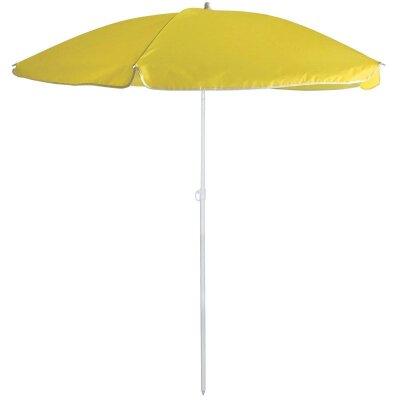Складной зонт от солнца пляжный BU-67 диаметр 165 см, складная штанга 190 см