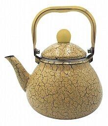 Чайник эмалированный 1.2 л GR-LXH-1204 GRACE Песочный