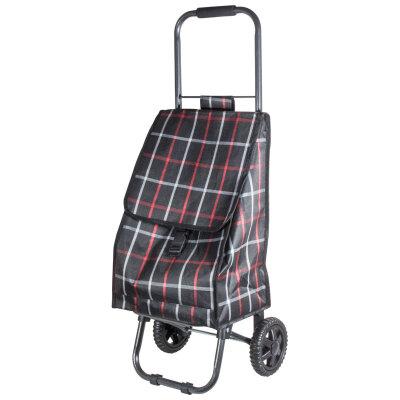 """Тележка с сумкой Рыжий кот D203ECO """"Brown"""", 30 кг"""