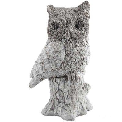 Фигурка декоративная керамическая Сова 25.5x20x44.5 см