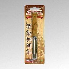 Яблокорезка Ретро арт. AN57-8 МультиДоМ нержавеющая сталь, деревянная ручка