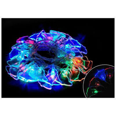 """Светодиодная гирлянда мигающая многоцветная """"Колокольчики"""" LED-B-30-3-MC 3 метра 8 режимов 30 ламп"""
