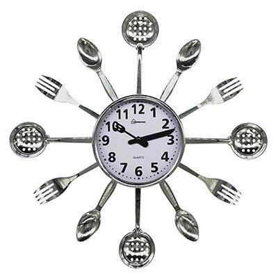 HOMESTAR HС-15 Часы настенные кварцевые Ложки, Вилки, Шумовки