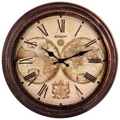 Часы настенные большого диаметра 40 см ENGY ЕС-17 без секундной стрелки