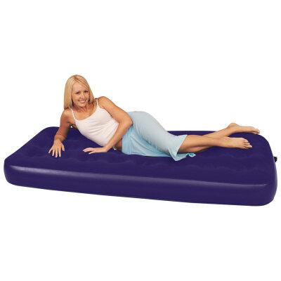 Матрас надувной походный 1 спальный Bestway 67000N Single для гостей 185x76x22 см
