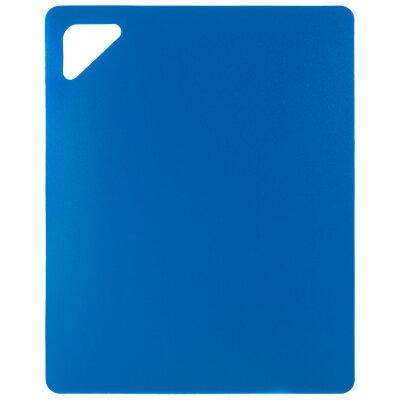 Гибкая разделочная доска 27х21.5 см Mallony из пластика, Синяя