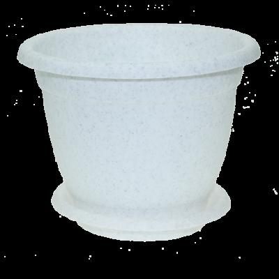 Горшок для цветов с поддоном Борнео ING42019 диаметр 190 2.1 л