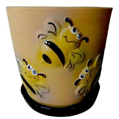 """Цветочный горшок """"Жужу"""" керамика"""