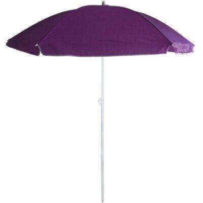 Пляжный зон с наклоном от солнца BU-70 Фиолетовый диаметр 175 см, складная штанга 205 см