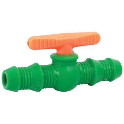 Вентиль поливочный для шлангов 12 мм и 16 мм Арт.В-12-16 пластик