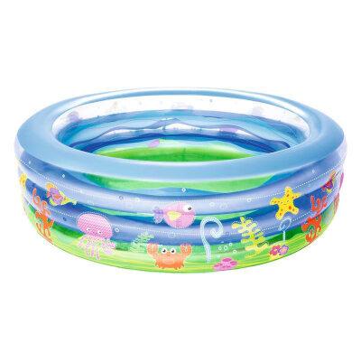 Bestway 51029 Бассейн надувной на дачу для детей от 6 лет , 169x53 см, 700 л