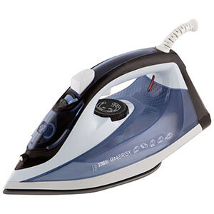 Утюг ENERGY EN-345 синий 2200 Вт, пар, спрей, паровой удар, самоочистка, керамическая подошва
