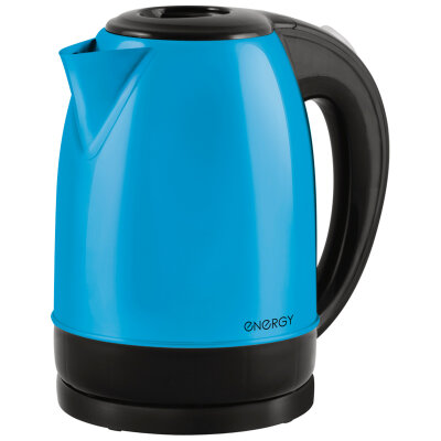 Чайник электрический ENERGY E-277 RIO из нержавеющей стали 1.7 л , голубой