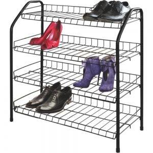 Этажерка для обуви ЭТ1 НИКА металлическая в прихожую