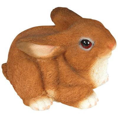Фигурка садовая Кролик GF-R-02 полистоун, высота 13 см