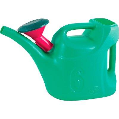 Лейка садовая с рассеивателем 6 л УРОЖАЙНАЯ пластиковая для полива огорода