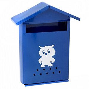 Вертикальный почтовый ящик ДОМИК без замка Павлово