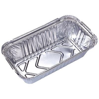 Форма для выпечки одноразовая прямоугольная 20х11х5 см Lamina из алюминиевая фольги Mallony