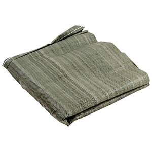 Мешки хозяйственные для строительного мусора 25 л зеленые 5 шт