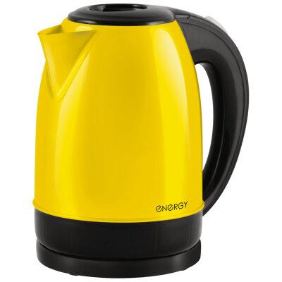 ENERGY E-277 RIO Чайник электрический стальной 1.7 л,  Желтый