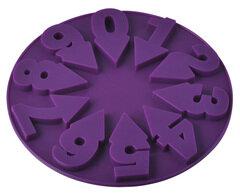 Форма силиконовая для выпечки и льда «Цифры» 93-SI-FO-80 15x2 см