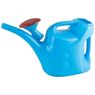 Лейка 8 л с рассеивателем пластиковая Урожайная Синяя
