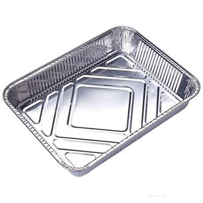 Форма для выпечки одноразовая Mallony 22х18х4.5 см Lamina прямоугольная из алюминиевой фольги
