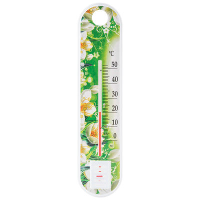 Цветок П-1 Термометр комнатный 4х19 см