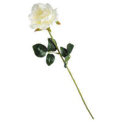 Цветок искусственный Роза для декора 63 см