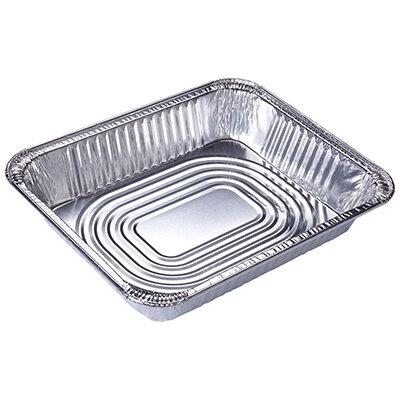 Форма для выпечки одноразовая прямоугольная 37х27х7 см Lamina Mallony из алюминиевой фольги