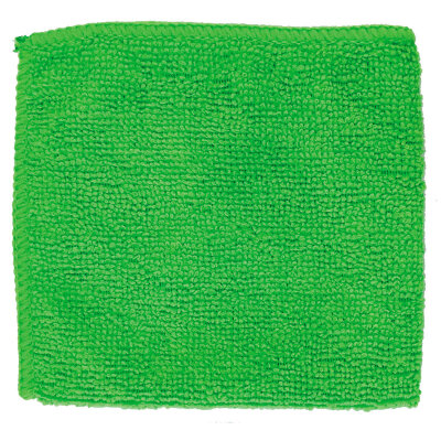 Салфетка из микрофибры 25х25 см Рыжий Кот М-02Есо, Зеленая