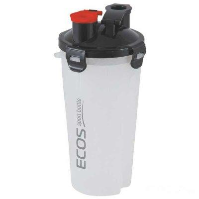 Шейкер для спортивного питания ECOS HBS02 1 л двухсекционный