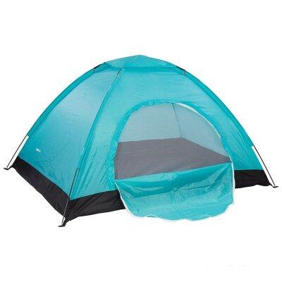 Палатка двухместная однослойная туристическая EasyGO 210х150х120 см