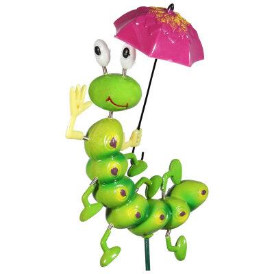"""Штекер садовый """"Гусеница с зонтиком"""" GS-51-CWU"""