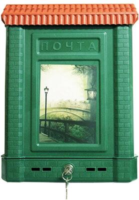 Уличный почтовый ящик пластиковый ПРЕМИУМ с замком Ковров