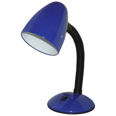 Светильник настольный для рабочего стола под лампу 40 Вт Е27 ENERGY EN-DL07-2  Cиняя