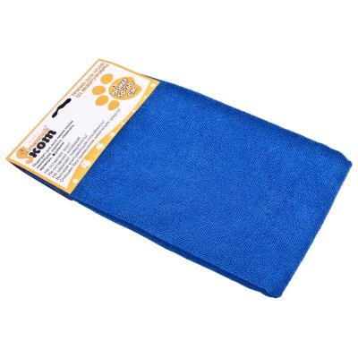 Тряпка для мытья пола из микрофибры 50х60 см Рыжий Кот M-02F-L, цвет: синий