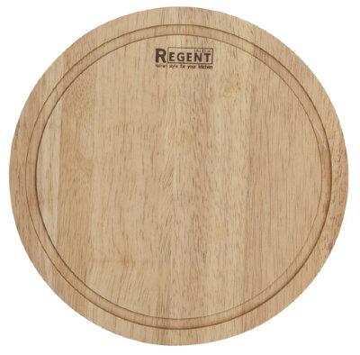 Доска разделочная круглая 24 см 93-BO-1-01 деревянная