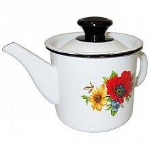 Чайник заварочный эмалированный 1 л 42704-072/4 Керчь