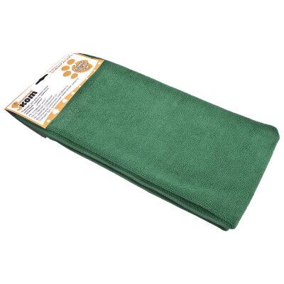 Тряпка для мытья пола из микрофибры 70х80 см Рыжий КОТ M-02F-XL, цвет: Зеленый