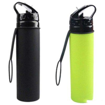 Спортивная бутылка для воды ECOS SH-03 силиконовая 650 мл