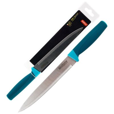Нож разделочный VELUTTO MAL-02VEL Mallony лезвие 19 см с рукояткой soft touch