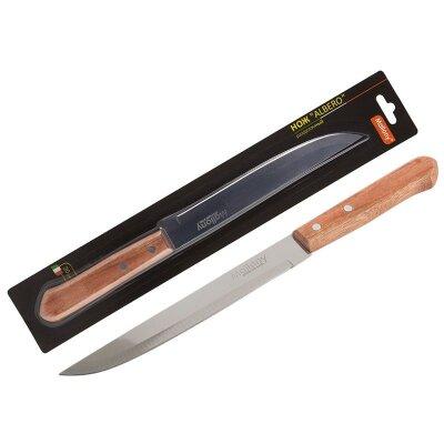 Нож разделочный 20 см ALBERO MAL-02AL Mallony с деревянной рукояткой