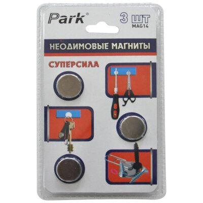 Магниты неодимовые редкоземельные 18х3 см PARK MAG14 3 штуки