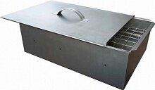 """Коптильня горячего копчения для дачи 2 уровня """"Счастливый день"""" 335х275х210 мм, Павлово"""