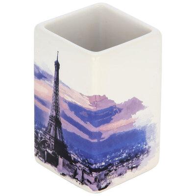 "Стакан для ванной комнаты ""Париж"" TU-P, керамика"